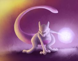 Mewtwo by Zenity