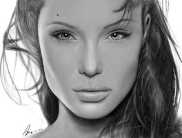 Angelina Jolie by AndyWYC