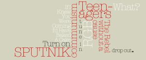 50's typography by jackabe