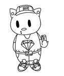 Swag Fag Hello Kitty 2 by Empawk