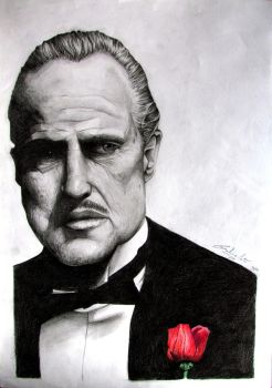 Don Corleone by Sychro