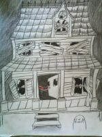 My Haunted house .3. by PikaPanic25