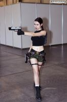 Lara Croft AOD4 - Igromir'12 by TanyaCroft
