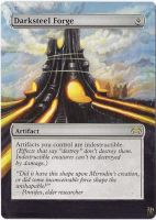 Magic Card Alteration: Darksteel Forge by Ondal-the-Fool