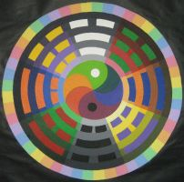 Ba Gua Colorwheel by Daimyo-KoiKoi