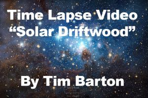 Nebula Painting Time Lapse Video - Solar Driftwood by cosmicspark