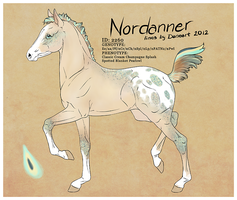 DESIGN - Nordanner Foal #2260 by strideroo