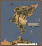 The World of Mythodea Map by Droner