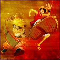 Grafik Naruto - Monkey d Ruffy by Mark147