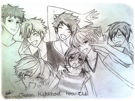 Ouran Highschool Host Club by Mishierru