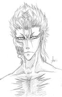 Grimmjow - Portrait by shirotenshi-chan