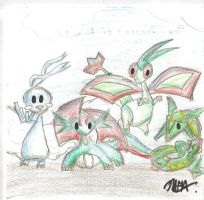 The Dragons of Hoenn by LWSkybones