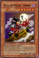 Keyblade Master - Shadow card by OdaNobonaga