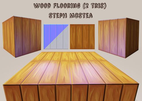 Wooden Floor Box by Steph1254