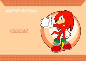 Knuckles the Echidna xXSonic ChannelXx by PrincessShadyk