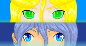 Persona  Eyes by kittenAX