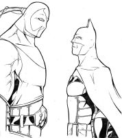 CTS Batman vs Bane by TravisTheGeek