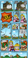 Super Paper Mario - Meeting Bowser by JoyJababaNoid