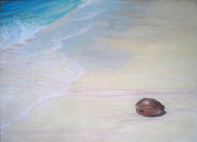 Lone Coconut by DNagele