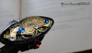 steampunk ring by TheClockworkCrow