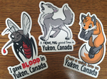 Yukon Critter Stickers by ShiloT