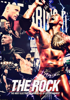 The Rock Poster by TheAwesomeJeo