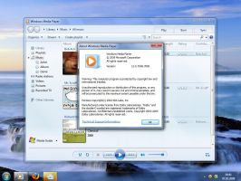 Windows Media Player 12.0.7048 by Misaki2009