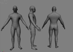 Male Base Mesh by mr-hobes