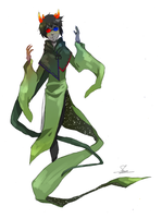 God Tier Sollux by Alice-Heartless