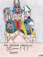 Promo Art for Crossover Chronicles: Genesis by Gardboyz-Productions