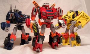 Diaclone Hilux Brothers by Spurt-Reynolds