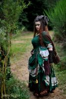 Witch Ritual Dress 2.1 by corsetiere
