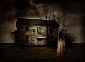 Welcome to the haunted house by darkclub