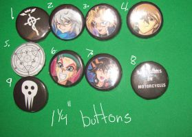Small Buttons - Misc by KamuiYamato