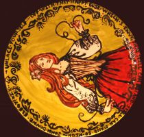 Donne Corset Plate by janey-jane
