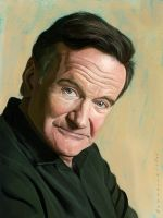 Robin Williams by markdraws