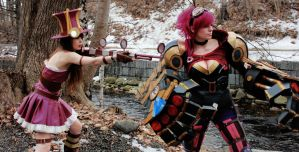 Piltover's finest OP. (League of Legends) by KawaiiTine