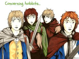 Concerning hobbits... by molly666morris
