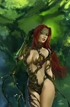 Poison Ivy Witchblade by IvannaMatilla