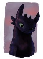 Toothless by BennucciaCartuccia