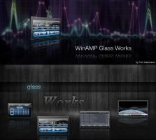 WinAMP Glass Works by OctogunSalata