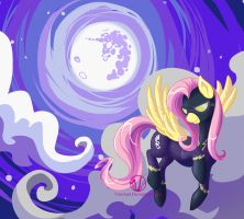 Shadowbolt Fluttershy by VaraAnn