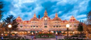 The Disneyland Hotel in the Evening by StanThobemmos