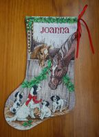 Joanna's Stocking by cloudrat