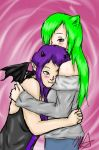Nex and Kalliely by the-dark-ninja