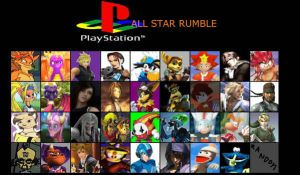 Playstation All Star Rumble by SuperSaiyanCrash