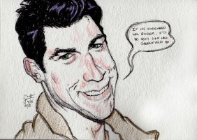 Triple S - Max Greenfield by peanutjester