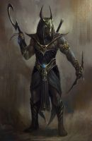 Anubis Batman by TomEdwardsConcepts