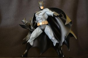 Kotobukiya Jim Lee Batman, black costume by Wellington151