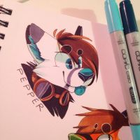 pepper badge by sarehkee